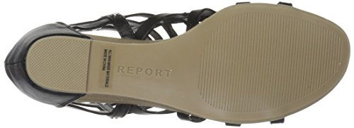 Sandal Report Wedge Black Maxton Women's w1q4xtzg