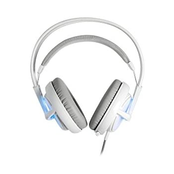 SteelSeries Siberia v2 Full-Size Gaming Headset with Built-In USB Sound Card (Frost Blue)