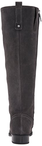 Knee Women's Suede Boot Nine Nicolah West Dark High Grey wpqRIZ1