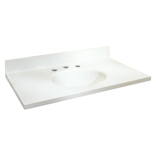 Transolid Samson ITB3122-01-8C Solid Surface 31x22 Chelse...