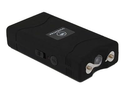 VIPERTEK VTS-880-30 Billion Mini Stun Gun - Rechargeable with LED Flashlight, Black by VIPERTEK