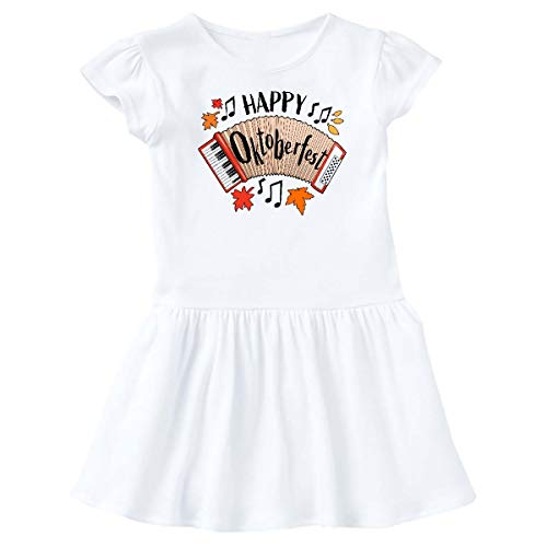 inktastic - Happy Oktoberfest- Accordian Infant Dress 18 Months White 321a3