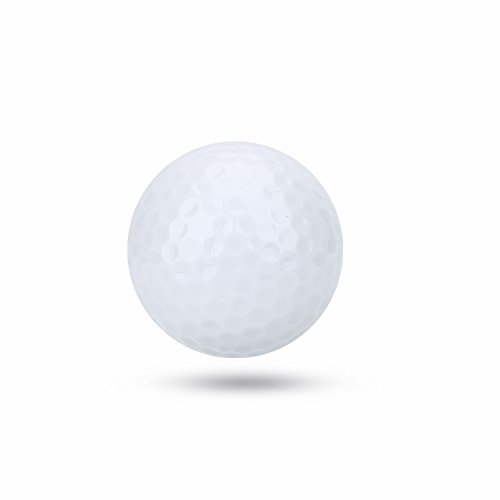 VGEBY1 Electronic Golf Balls,Electronic LED Lighting Golf Ball Novelty Golf Balls Night Party for Dark Night Sport Practice Training Travel(White) ()