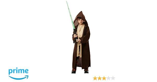 Star Wars - Disfraz Túnica Jedi Premium para niños, infantil 7-8 años (Rubies 640274-L)