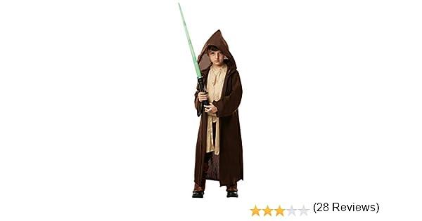 Star Wars - Disfraz Túnica Jedi Premium para niños, infantil 5-6 ...