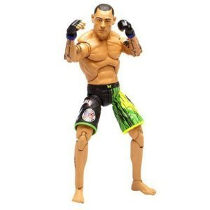 UFC Ultimate Fighting Jakks Pacific Series 3 Deluxe Action Figure Thiago Silva by Jakks Pacific