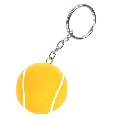 Tennis Stress Ball - Keychain - 6 Pack by Ariel