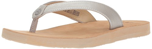 discount best wholesale UGG Women's Tawney Metallic Flip-Flop Silver buy cheap release dates 7S6RCQA