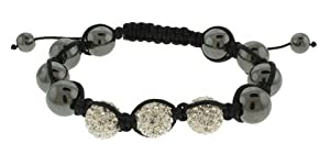 "12 Piece Wholesale Lot Fashion Jewelry ""SHAMBALLA"" Style Bracelets 48b9353s"