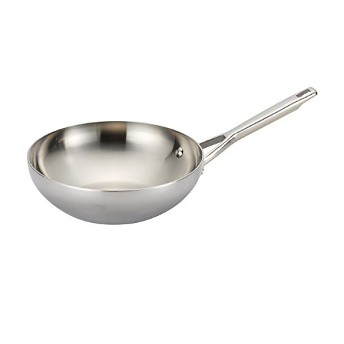Anolon Tri-Ply Clad Stainless Steel 10.75-Inch Stir ()