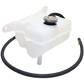 Coolant Overflow Expansion Recovery Tank Reservoir Bottle with Cap Replacement for 02-06 Jeep Liberty 3.7L SUV 52079788AE