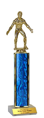 Wrestling Trophy - 12'' Basic by QuickTrophy