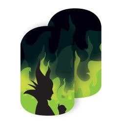 Jamberry Nail Wraps - Mistress of all Evil - HALF SHEET (Disney Collection) -