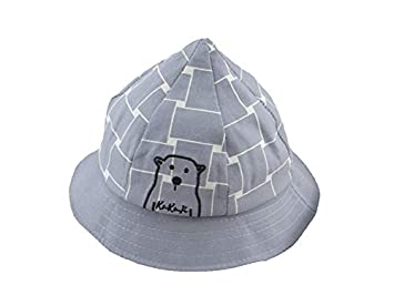 a9a9745d0f3 Infant Cap Kids Bear Embroidery Pointed Hat Baby Sun Protection Hat Sun  Visor for 6-