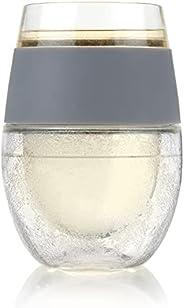 HOST Copo refrigerante térmico de parede dupla para bebidas congeláveis com gel congelante, copos para vinho t