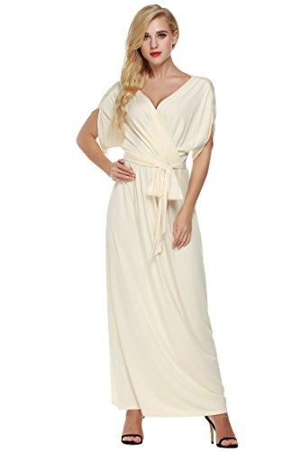 Damen Bodycon Kleider Kleid Rockabilly Sommerkleid Cocktailkleider Stretch Maxikleid