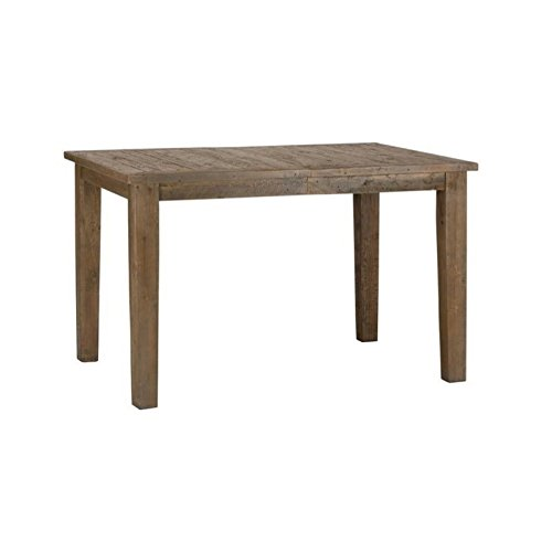 Jofran Slater Mill Pine Wood Counter Height Dining Table in Brown