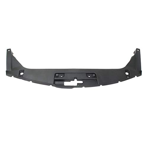 Koolzap For 08-12 Accord Coupe 2-Door Radiator Support Upper Grille Cover Panel Plastic - Grille Support Panel