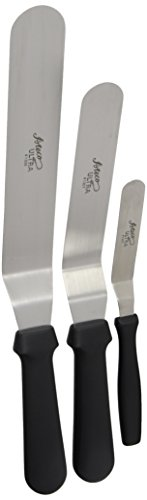 Indispensable Kitchen Spatula - Ateco Professional Offset Spatula Set