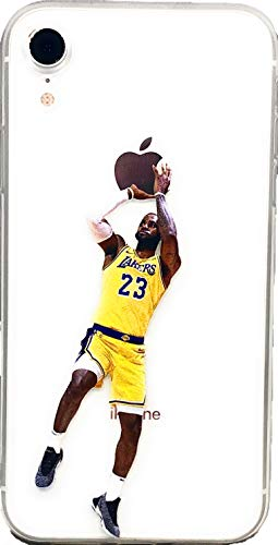 c0b50ad0b198d ECHC Soft TPU Basketball Case with Your Favorite Past and Present Players  Compatible for iPhone (James Fader, iPhone X)