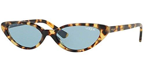 VOGUE Women's 0vo5237s Cateye Sunglasses, Brown Yellow Tortoise, 0 mm