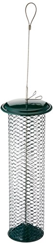 - Birds Choice Magnet Mesh Peanut Feeder Green in Color