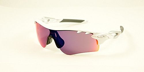 f00205a0acfb Image Unavailable. Image not available for. Colour: Oakley Sunglasses  Radarlock Path Vented Polished White/Prizm Road/Persimmon ...