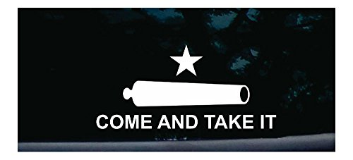 Come and Take it Flag Bumper Sticker Vinyl Car Window Decal CDD-300 by Unknown
