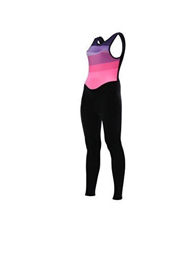 Fw1182gilcoral - Santini Womens Coral Bib Tights Gil Pad Fucsia Pink: Pink (Santini Bib)