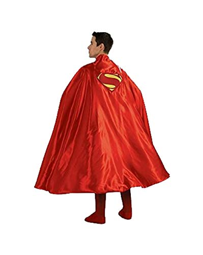 - Rubie's Costume Deluxe Adult Cape With Embroidered Superman Logo