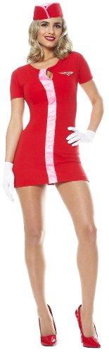 Mod Flight Attendant Adult Costume Size X-Large