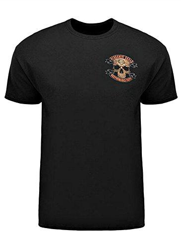 Harley-Davidson Screamin' Eagle T-Shirt, Workin' Skull, Black HARLMT0218 (XL)