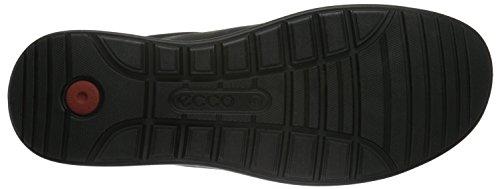 ECCO Howell, Scarpe Stringate Basse Derby Uomo Nero (Black02001)