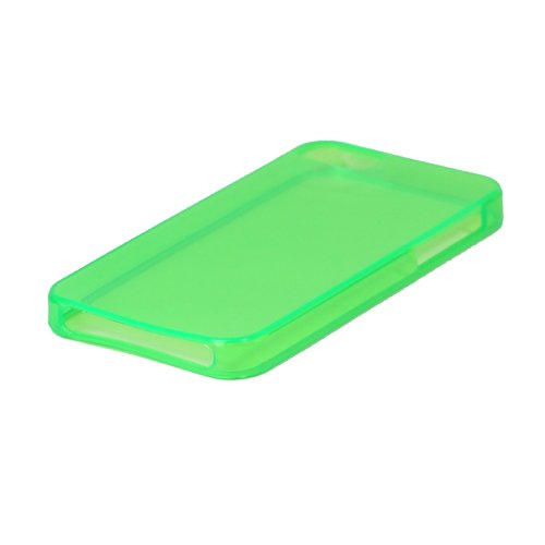 iProtect TPU Schutzhülle iPhone 5 / 5s Hülle transparent glossy lila