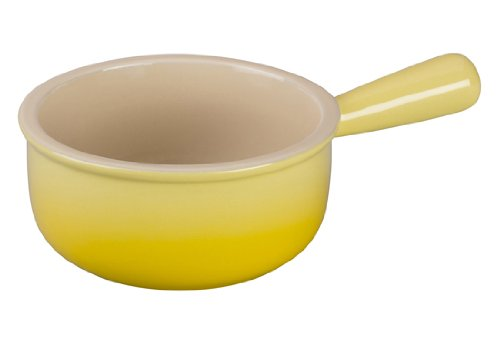 French Dinnerware Soup Bowl (Le Creuset Stoneware 16-Ounce French Onion Soup Bowl, Soleil)