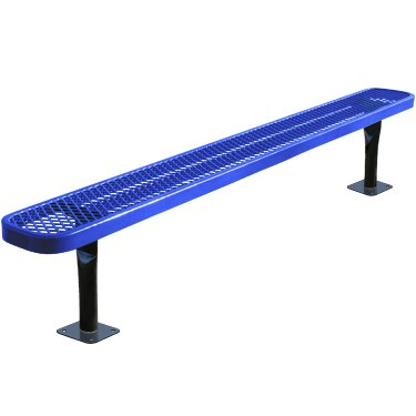 6' Backless Bench - 7