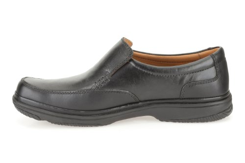 Clarks Swift Step Black Leather Black