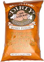 Price comparison product image Funky Fusion Dirty Potato Chips 5 oz