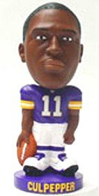 Minnesota Vikings Daunte Culpepper Forever Collectibles Knucklehead Bobble Head