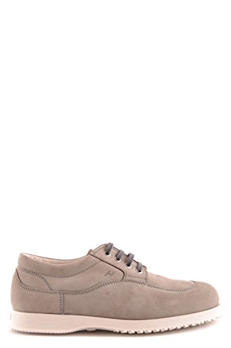 Sneakers Hogan Uomo In Pelle Scamosciata Grigio Mcbi148399o