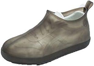XHYRB 靴カバー、防雨ノンスリップ厚手の耐摩耗靴カバー、ブルー 防水靴、防雨カバー、長靴 (Color : Gray, Size : S)