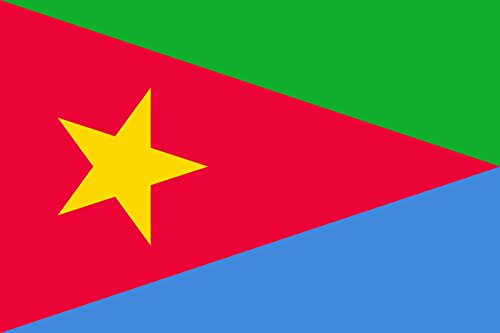 magFlags Large Flag Eritrean People s Liberation Front | Landscape Flag | 1.35m² | 14.5sqft | 90x150cm | 3x5ft - 100% Made in Germany - Long Lasting Outdoor Flag ()