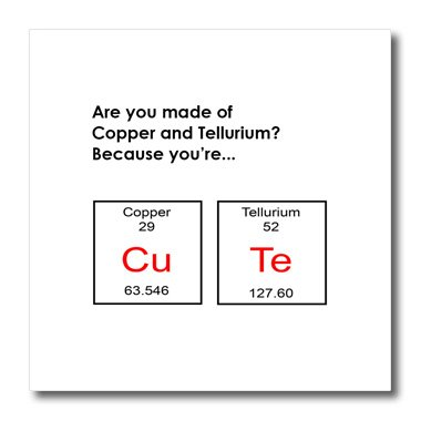 Amazon 3drose Ht1734293 Are You Made Of Copper And Tellurium