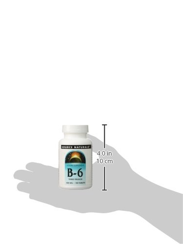 Vitamin B-6 500mg Timed Release Source Naturals, Inc. 100 Sustained Release Tablet: Amazon.es: Salud y cuidado personal