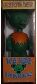B000LTISG8 Grateful Dead Jerry Bear We Are Everywhere Bobblehead GREEN 31S6dR1Sy2BL.