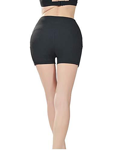 MILASIA Short Sport Mujer Yoga Fitness Running Gym Elastic ...