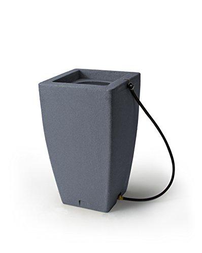 Algreen (84302) Products Madison Rain Barrel 49-Gallon, Charcoalstone