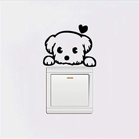 C Interrupteur Stickers Lumineux Animaux Chambre Autocollants dInterrupteur