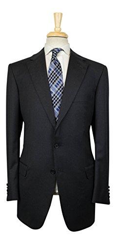 brioni Parlamento 21 Gray Super 150s Wool 3 Roll 2 Button Suit 53/43L - 150s Wool 3 Button Suit