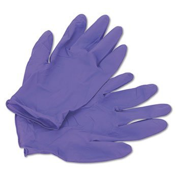 Kimberly Clark Safety 55083 Nitrile Gloves, Powder Free, Large, Purple (Pack of 100)